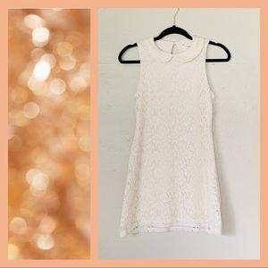 UO Coincidence & Chance |  Lace Collard Mini Dress